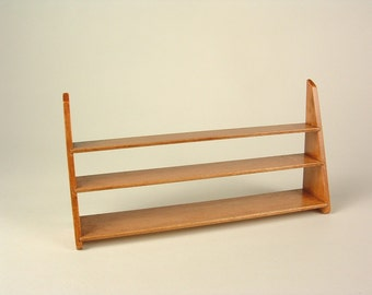 Shaker hanging book rack