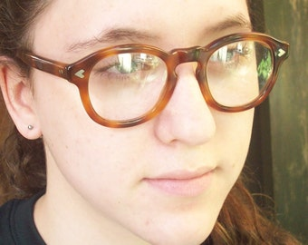 Eyewear from the 1980's / Tortoise Brown / Smart Glasses / Robert La Roche / Serious cool.