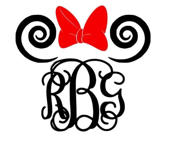 Swirl Embroidery Designs Disney
