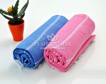 Handmade Towel Gift For Mom 2 Pcs Hand Loomed Towel By