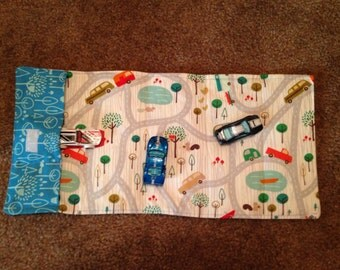 Take and Play Car Carrier, Play Mat, Car Mat, Quiet Toy, Toy Carrier