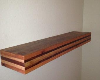 Floating shelf,reclaimed wood floating shelf,rustic floating shelf,floating  shelves,reclimed