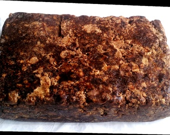 100% Natural Raw Hand Made African Black Soap 4 oz, 8 oz, 1 Lb to 100 Lbs
