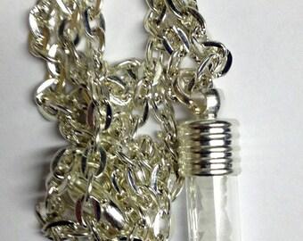 Supernatural Inspired Rock Salt Necklace
