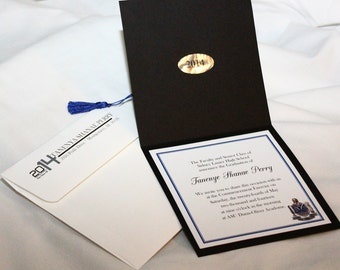 Personalized Graduation Cap Invitations with Envelopes