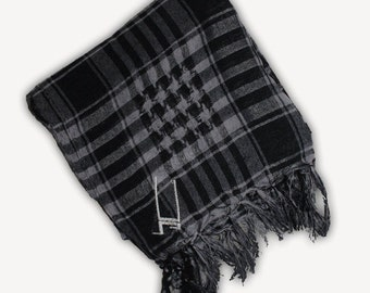 Upright Keffiyeh Scarf