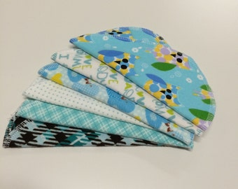 Handmade cloth baby wipes BOY(12/pk)