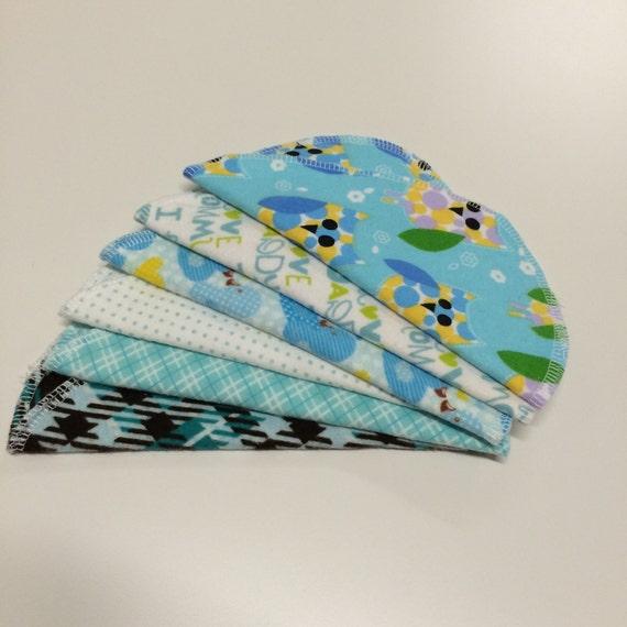 Handmade cloth baby wipes BOY(12/pk)