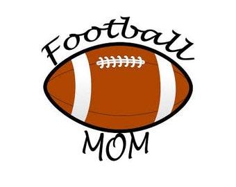 Football Mom Tshirt or Tank Top