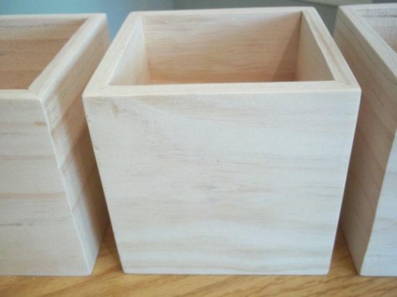 Amazon.com: Large Reclaimed Unfinished Wood Planter Box ...   Unfinished Wood Planter Boxes