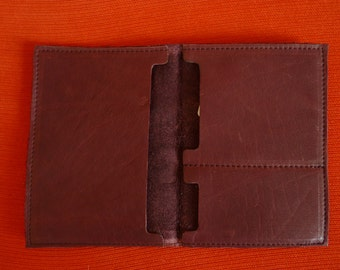 Card wallet leather