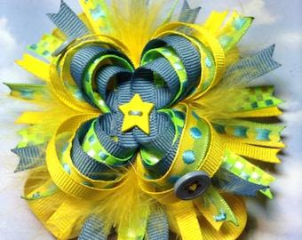 Custom made Loopy Hair Bow