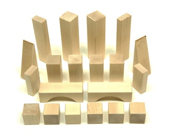 Maple Building Blocks - 20 pc. Basic Set