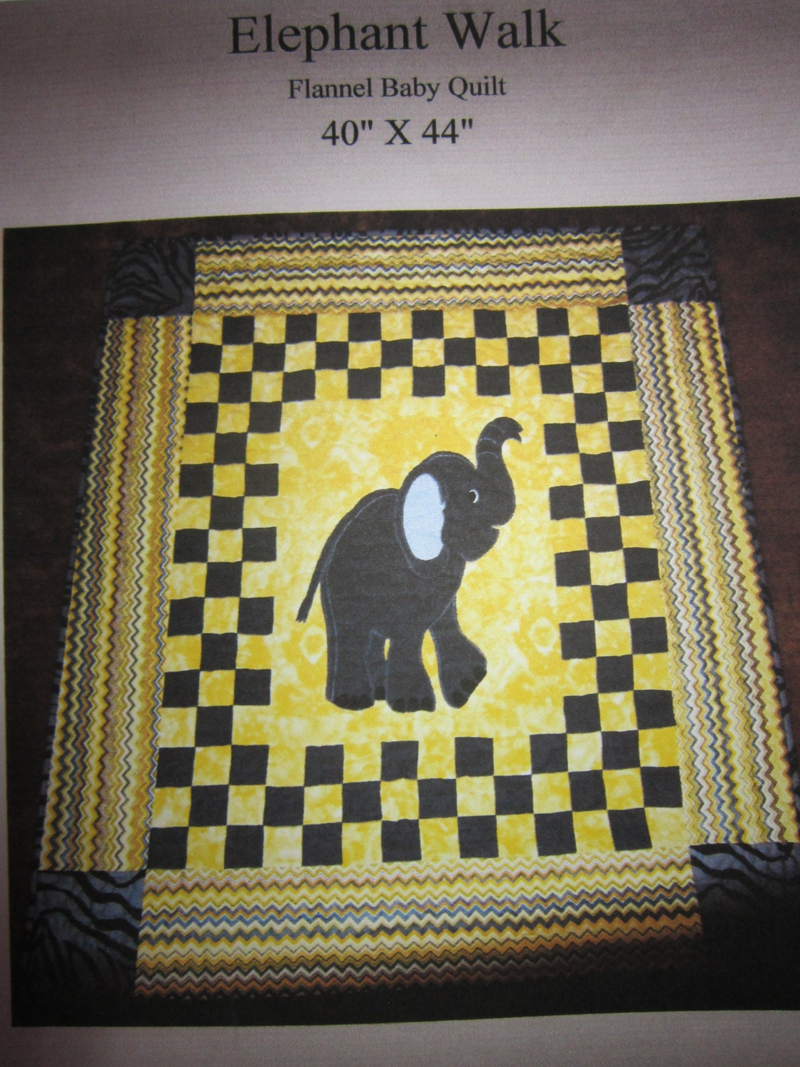 Baby Quilt Pattern Book Applique 7 Patterns FREE SHIPPING