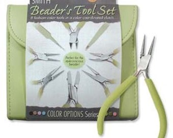 Beader's Tool Kit - Light Olive