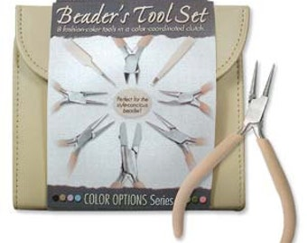 Beader's Tool Kit - Desert Beige