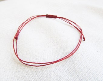 PACK OF 20, Kabbalah Bracelet, Red String Bracelet, Red Thread, Kabbalah, String of Fate Bracelet