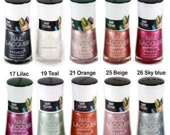 20pcs Texture Nail Polish Nabi Textured Nail Art