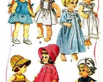 "Toddler Wardrobe Pattern for 12"" - 16"" Dolls"