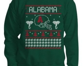 University of Alabama Tacky Football Chistmas Sweatshirt