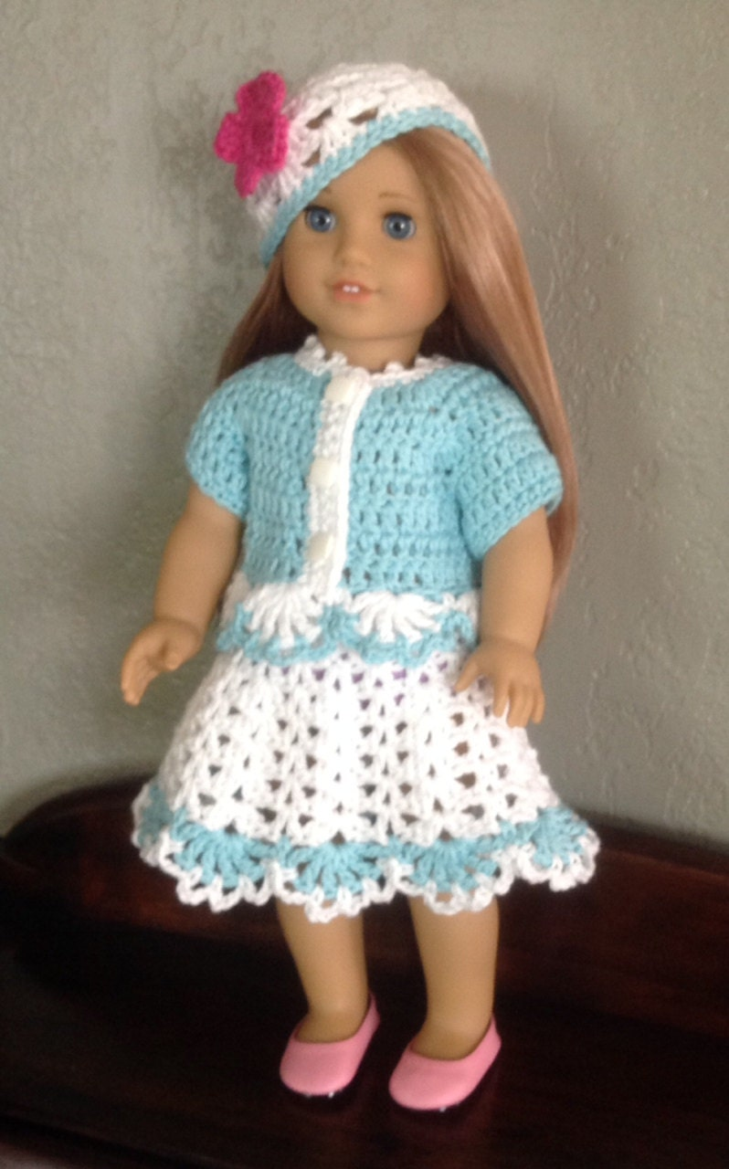 American Girl Crochet Pattern