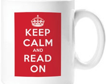 Mug - Keep Calm and Read On
