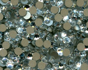 2088 SS14  C *** 25 Swarovski flat back SS14 (3,6mm) crystal