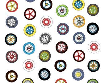 Wheel & Rim Pattern