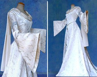 Elfenhaftes dress wedding dress CARIDA Middle Ages