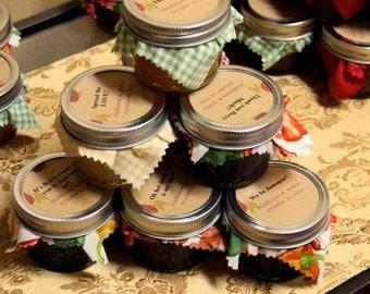 24 Jam or Jelly Mason Jar party favors