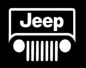 "5"" Jeep Custom Vinyl Decal"