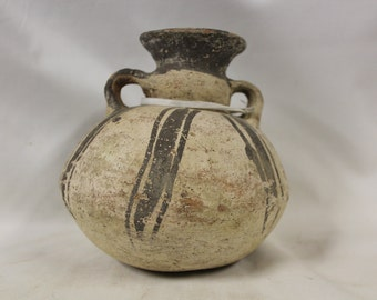 Storage Jar : Small Pre-Columbian Chancay Pottery Storage Jar #344