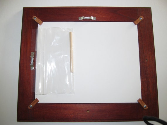 handcrafted 8x10 picture frame acid free backing with