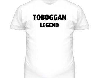 Toboggan Legend Funny T Shirt