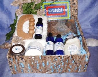Congratulations Spa Gift Basket