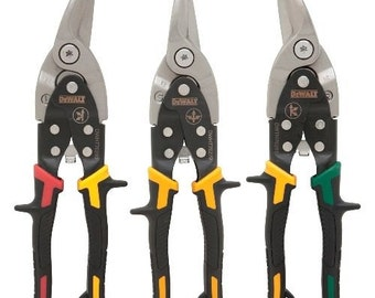 DeWALT DWHT70278 Aviation Left Center Right Snip Set - 3 Pack
