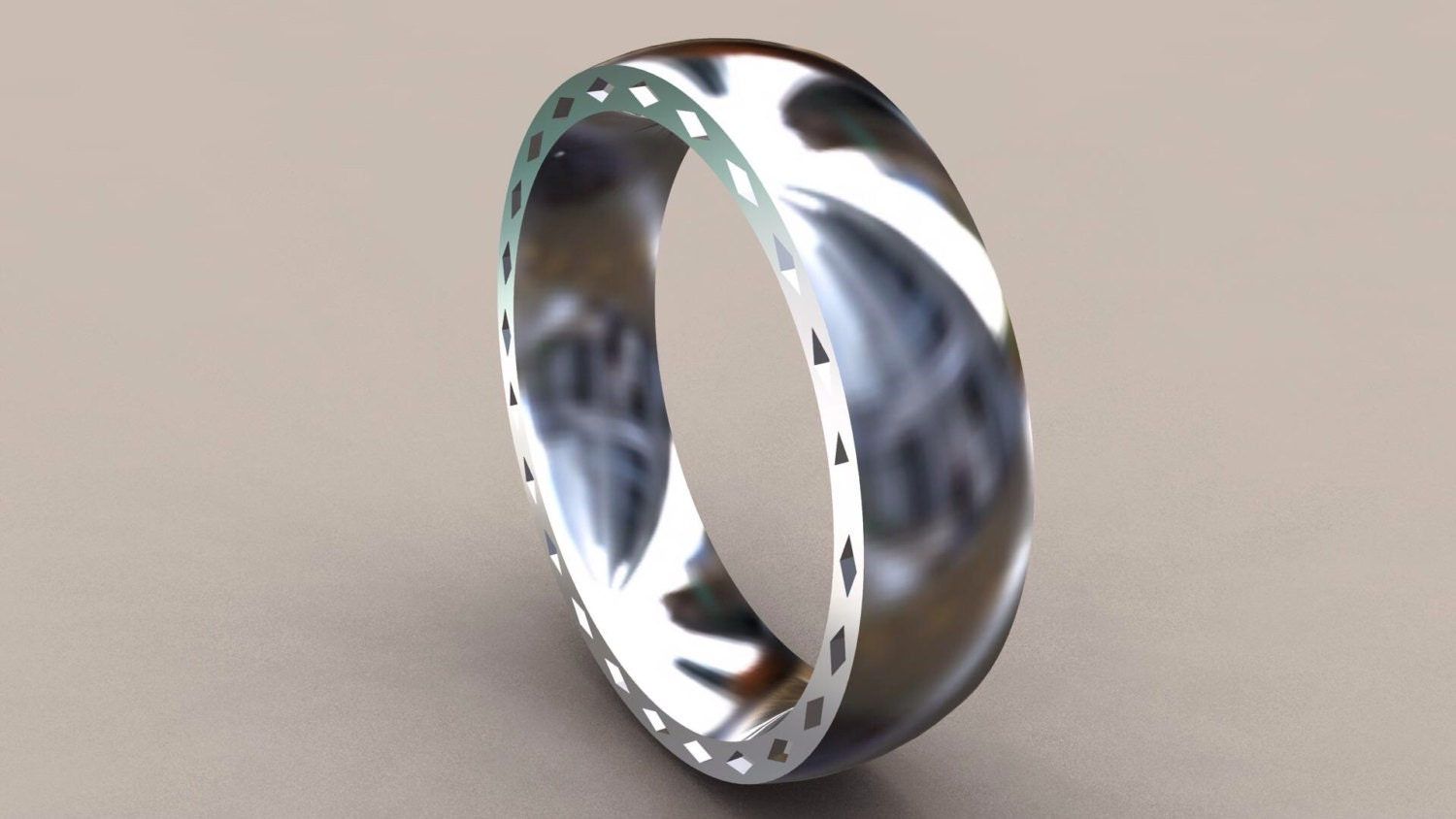silver 6mm mens wedding band with side simple wedding bands zoom