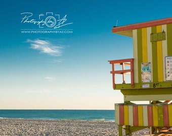 South Beach, Fine Art Photography Print, Sizes Vary, Miami Beach FL
