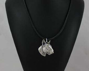 Bullterrier, dog necklace, limited edition, ArtDog