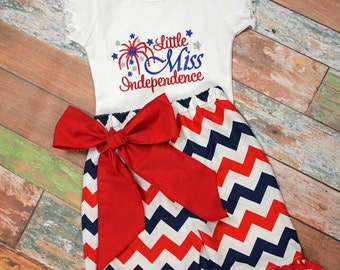 July 4th Girls Capri Set,Patriotic  Capri Set,Shorts,Pants,Capris,Fabric Choice