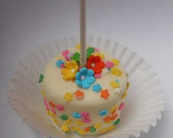 Flower Power Marshmallow Pops