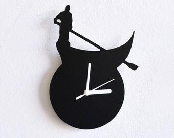 Condola Venice Italy - Wall Clock