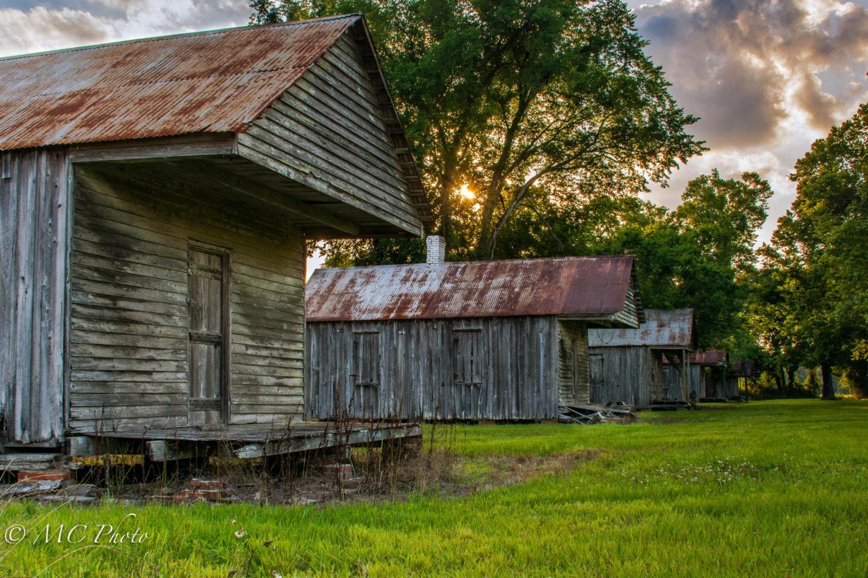 Slave quarters on Laurel Valley Plantation by ...