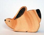 Easter, rabbit, WALDORF TOY BUNNY / Rabbit, Woodland animals  / Handmade Wooden Toy Waldorf Inspired