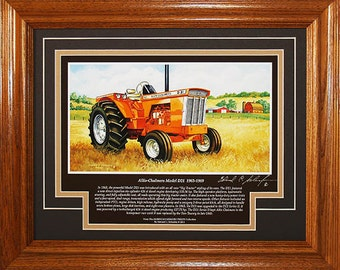 Allis Chalmers D21 1963 to 1969 with History