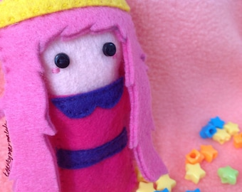 Miniature Princess Bubblegum Plush Doll (Adventure Time)
