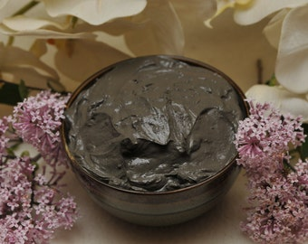 Dead Sea Mud Mask, organic, moisturize, reduce wrinkles,  exfoliate, skin regeneration, healthier skin, anti-aging, for dry and oily skin