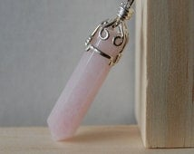 Rose Quartz Pendant - Love stone