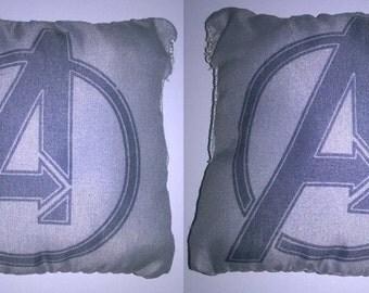Marvel pillows.