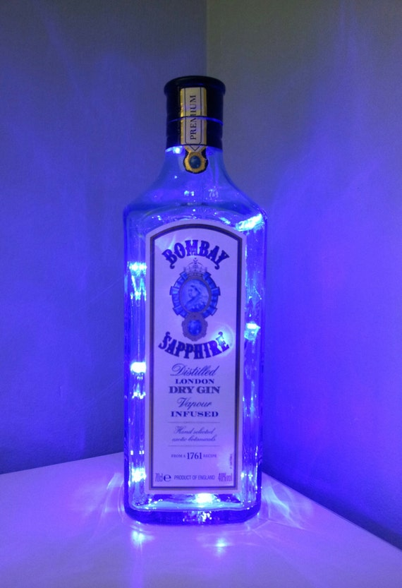 Upcycled Bombay Sapphire London Dry Gin By Twinkletwinklelilme